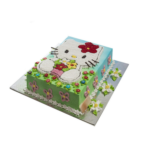 Crvena Hello Kitty torta