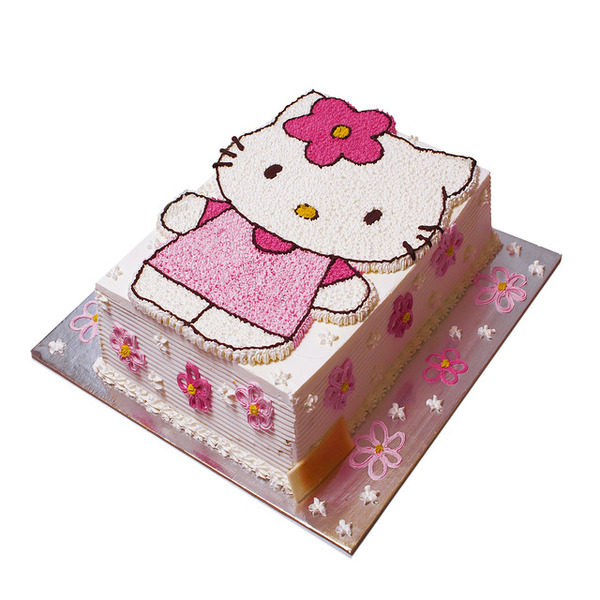 Hello Kitty sa balonima torta