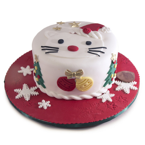 Mini Hello Kitty novogodišnja torta