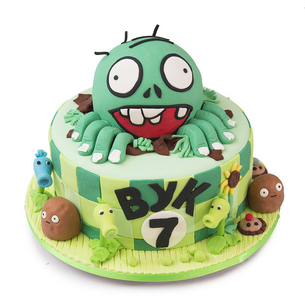 Plants vs. Zombies torta