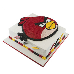 Dečije torte-Torta - Big red angry bird